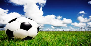 Voetbal-met-gras